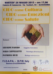 La conferenza in programma